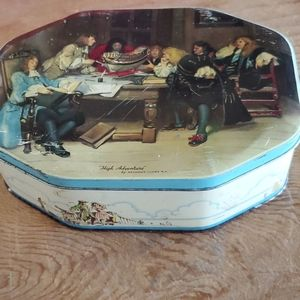 W & R Jacob &Co biscuit tin